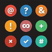 Simple web icons set 001