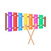 istock simple xylophone toy icon 1197915885