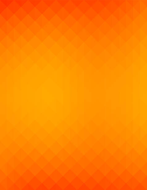 simple yellow and orange color tone gradient background. - orange color stock illustrations
