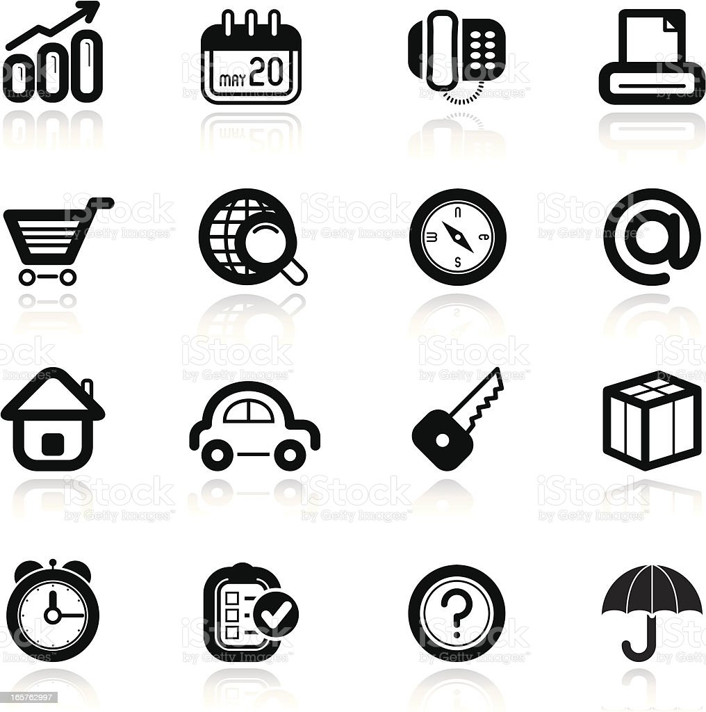 simples sets, international trade icons vector art illustration