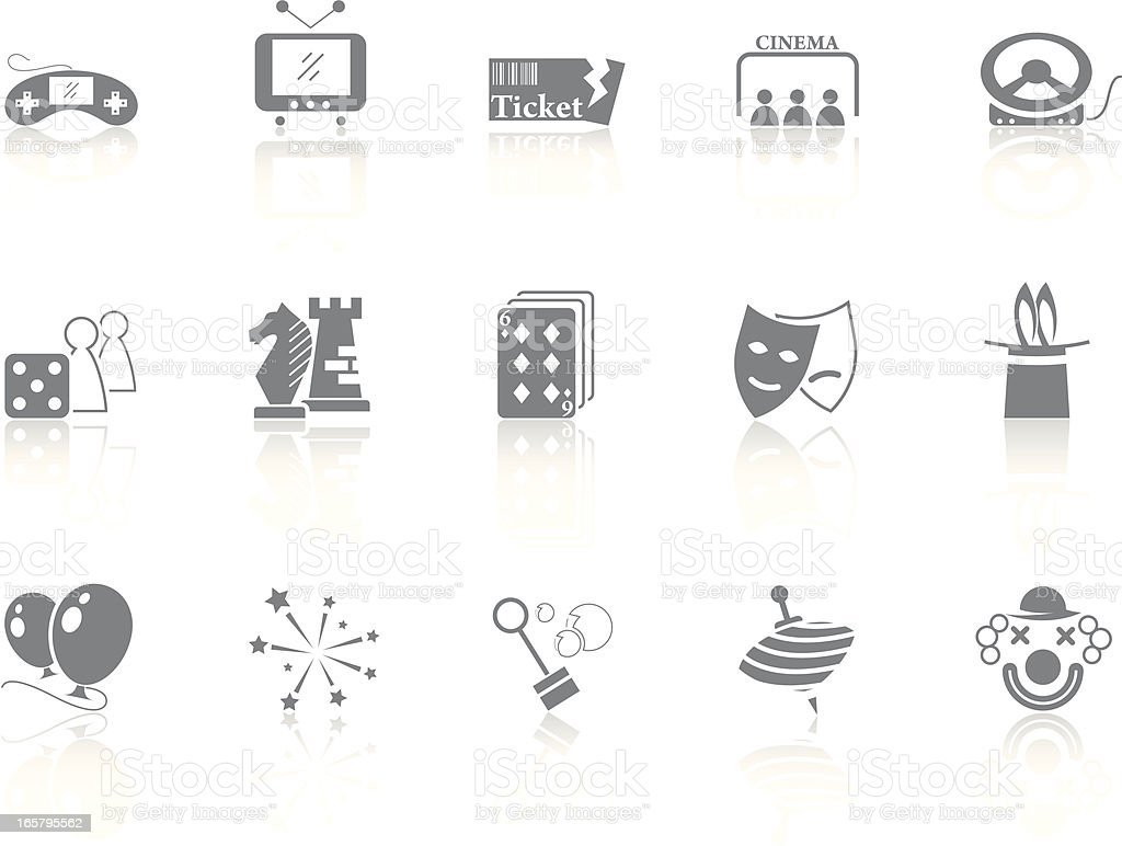 Simplicity > Entertainment royalty-free stock vector art