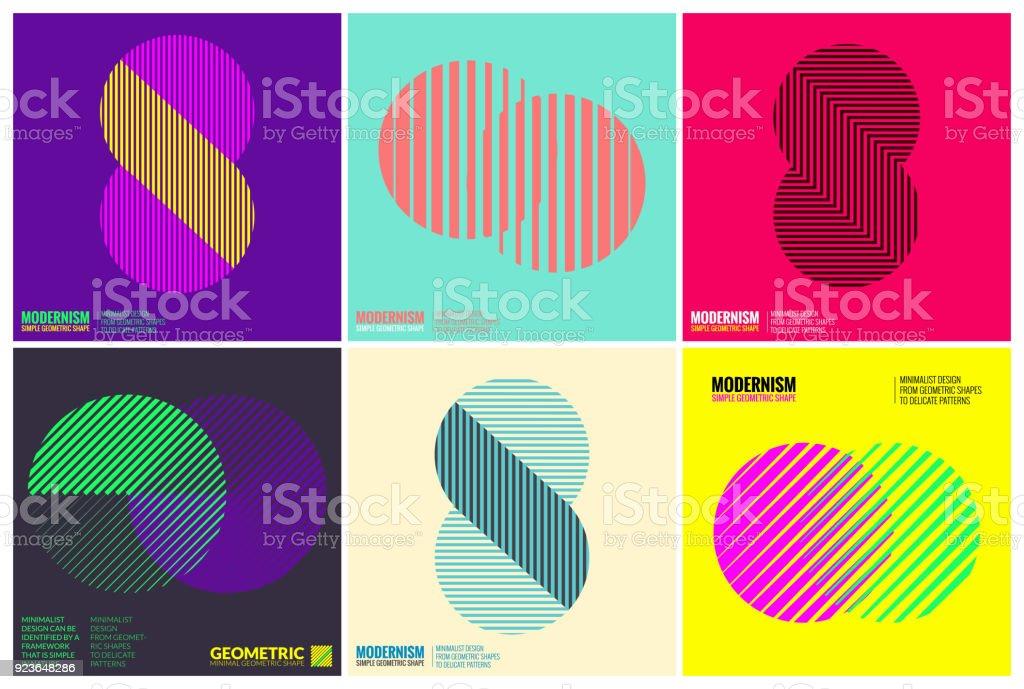 シンプルさの幾何学的なデザイン設定のクリーンなラインとフォルム ロイヤリティフリーシンプルさの幾何学的なデザイン設定のクリーンなラインとフォルム - djのベクターアート素材や画像を多数ご用意