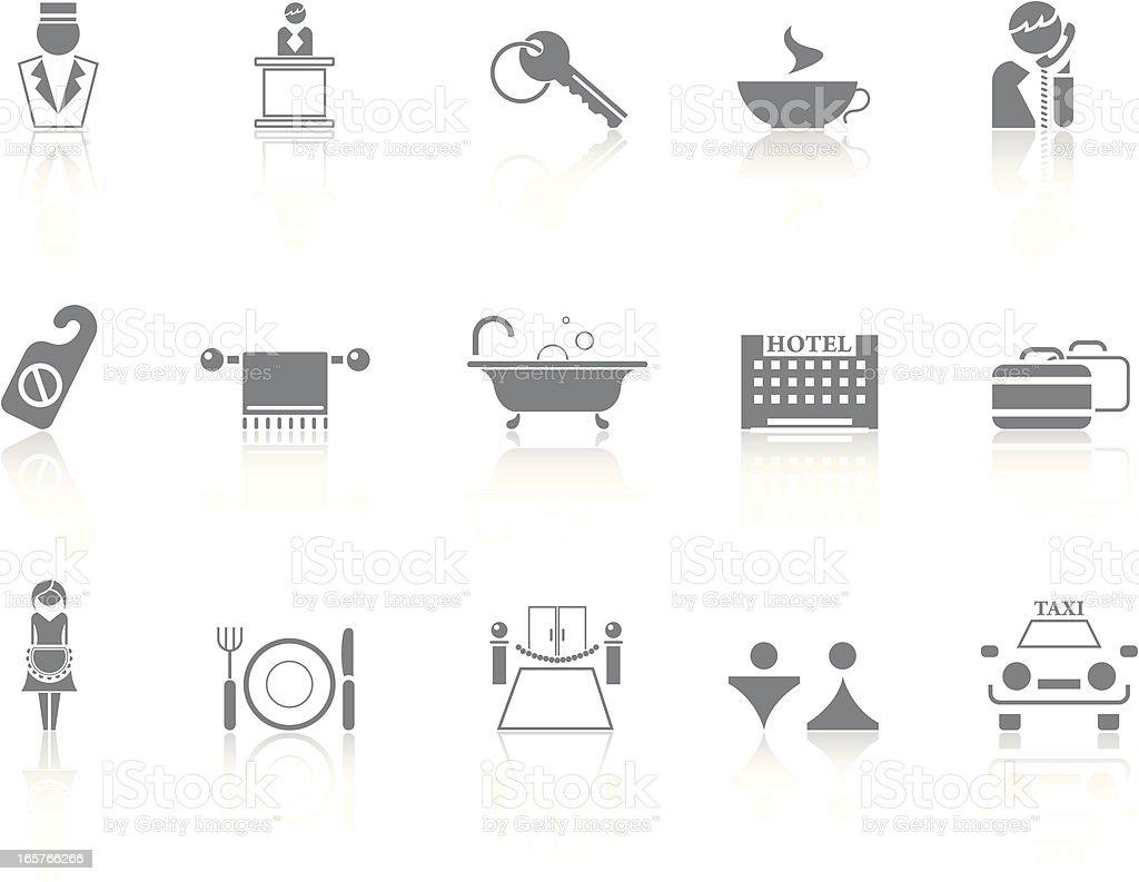 Simplicity > Hotel royalty-free stock vector art