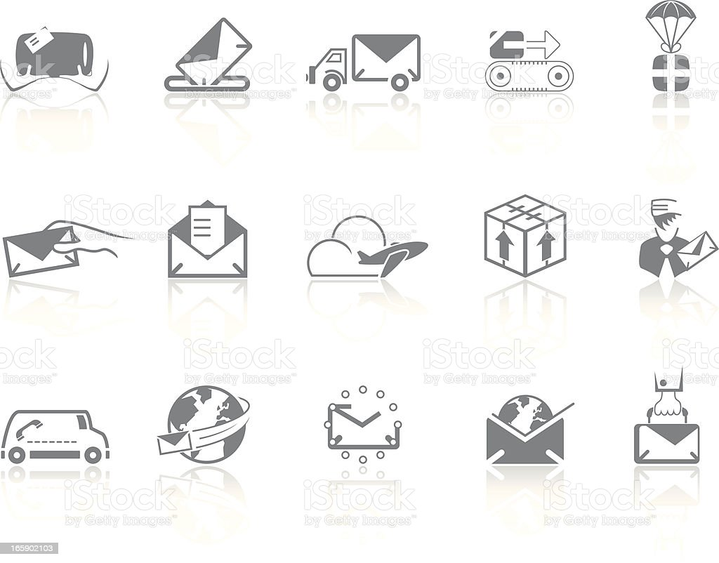 Simplicity > Mail & Delivery royalty-free stock vector art