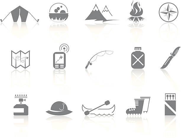 einfachheit  >  tourism - angelurlaub stock-grafiken, -clipart, -cartoons und -symbole