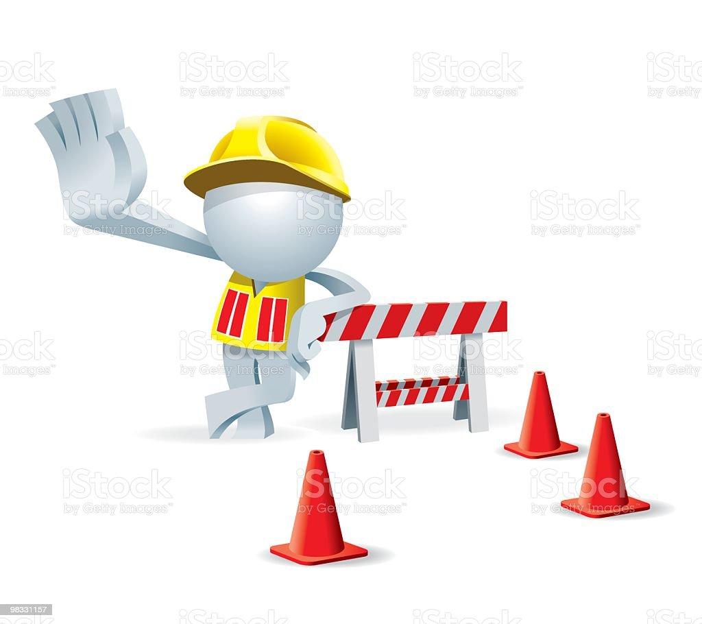 Simplified man Construction Site royalty-free simplified man construction site stock vector art & more images of adult