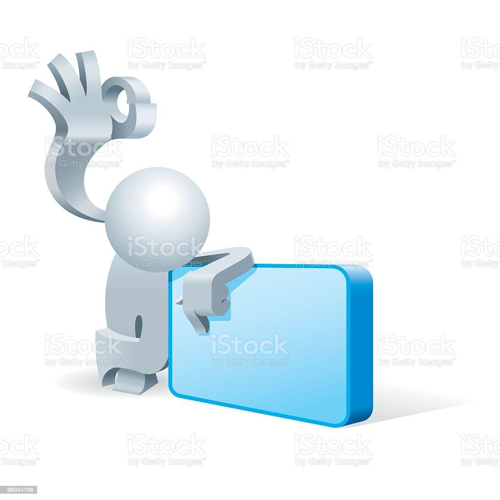 Uomo va semplificato Light Box Bacheca messaggi uomo va semplificato light box bacheca messaggi - immagini vettoriali stock e altre immagini di adulto royalty-free