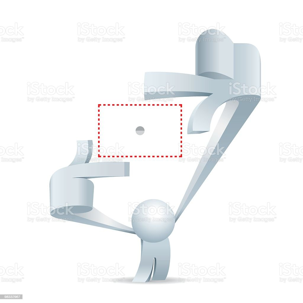 Simplified man Picture This royalty-free simplified man picture this stock vector art & more images of adult