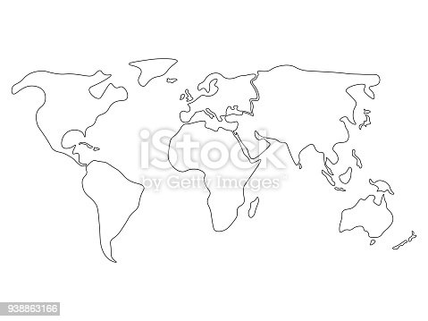 Free download of Australia Outline Map vector graphics and ... on blue world map vector, simple world map vector, black white world map vector, detailed world map vector,