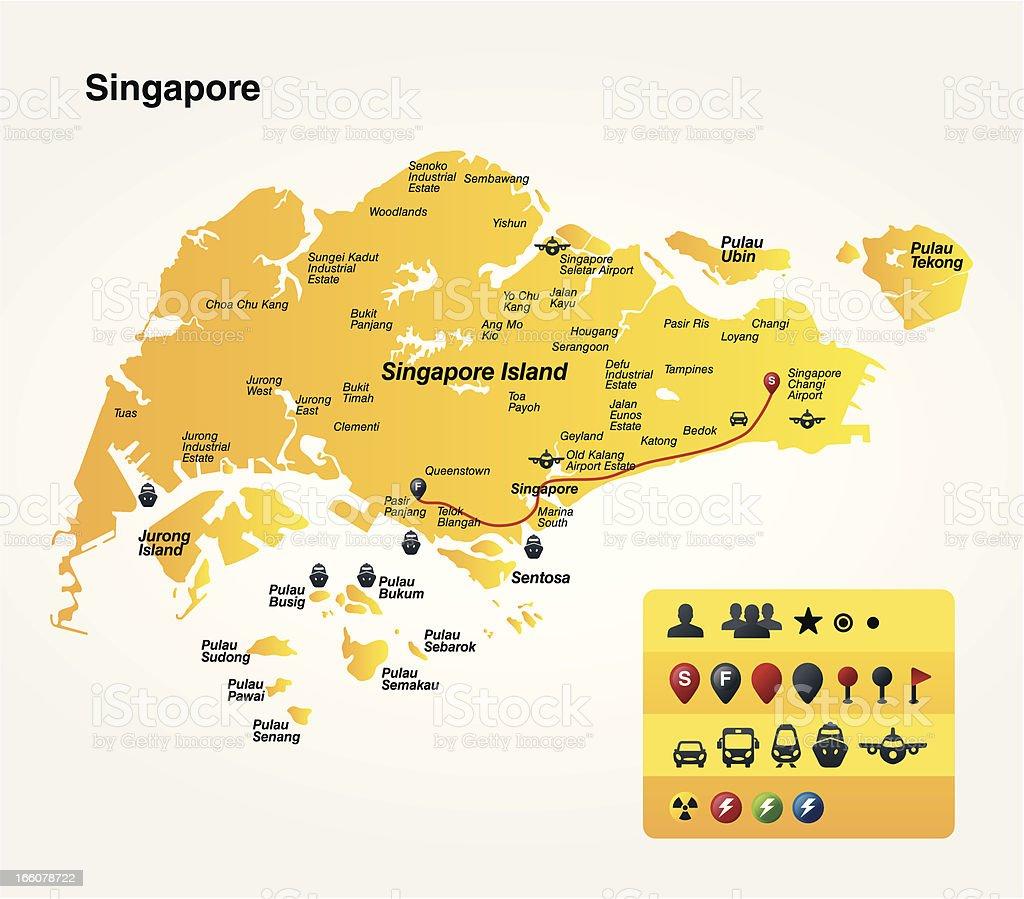 Singapore Stock Illustration - Download Image Now - iStock