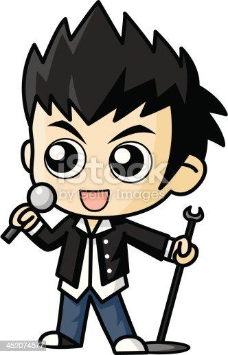 singer vector cartoon stock vector art  u0026 more images of