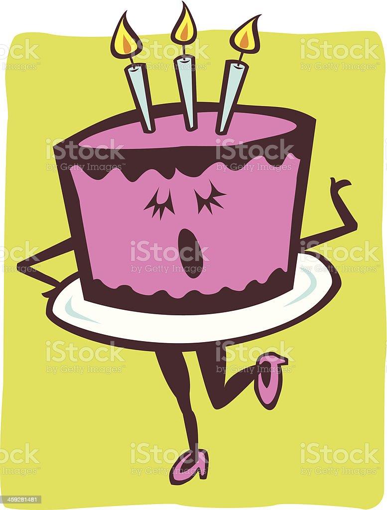 Astounding Singing Birthday Cake Stock Illustration Download Image Now Istock Personalised Birthday Cards Paralily Jamesorg
