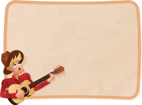 Singing Cowboy Background