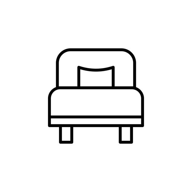 Royalty Free Empty Hospital Bed Clip Art, Vector Images ...