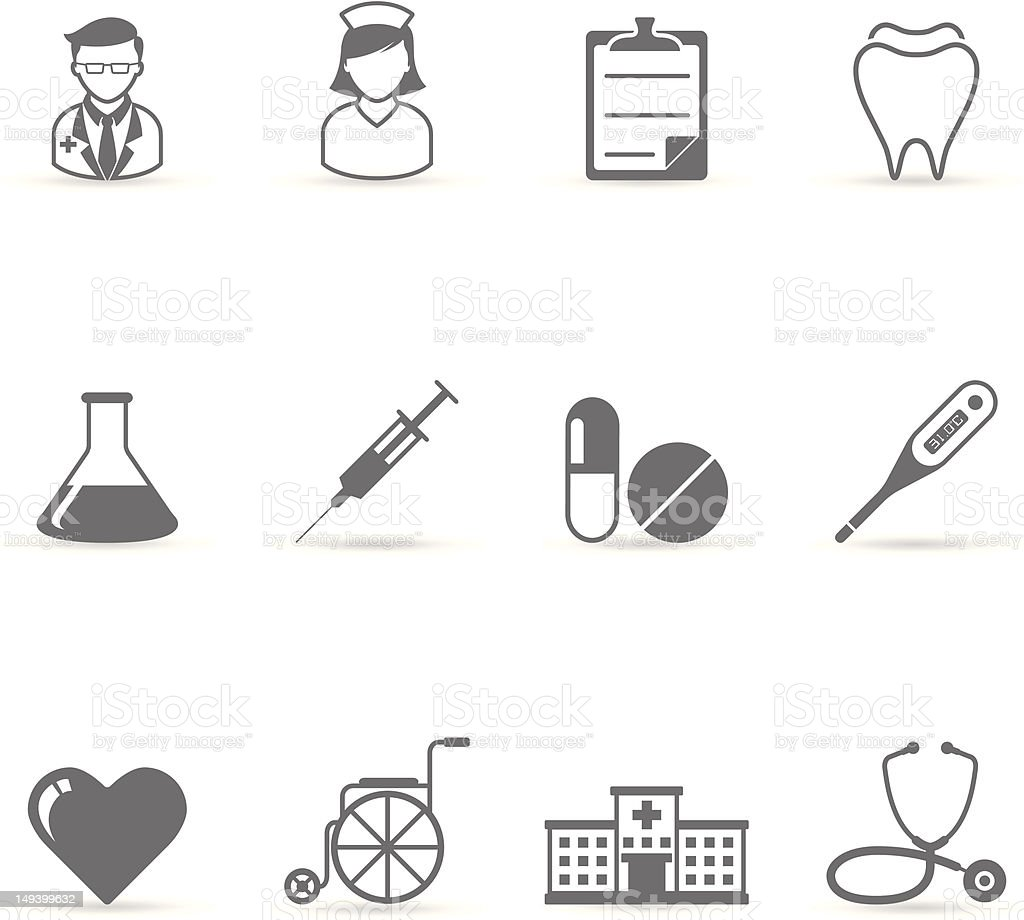 Single Color Icons - Medical royalty-free single color icons medical stock vector art & more images of accidents and disasters