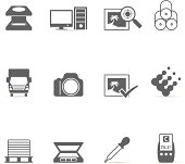Single Color Icons - More Printing & Graphic Design