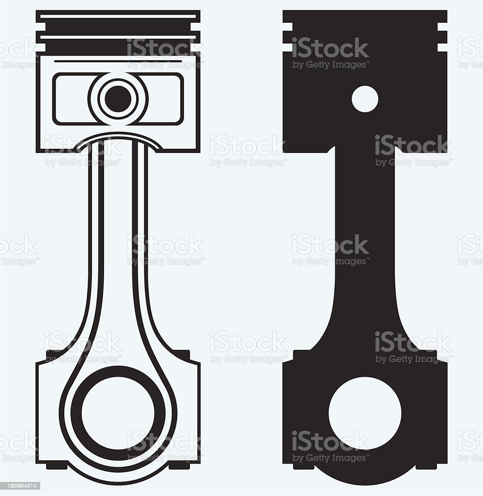 Single Engine piston vector art illustration