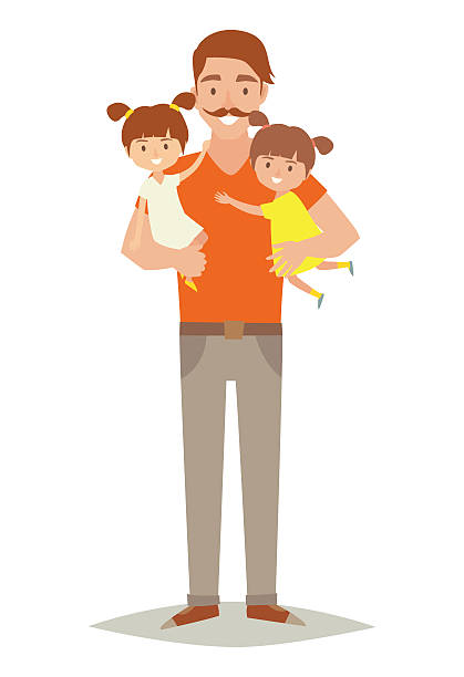 Royalty Free Father And Daughter Clip Art, Vector Images ...