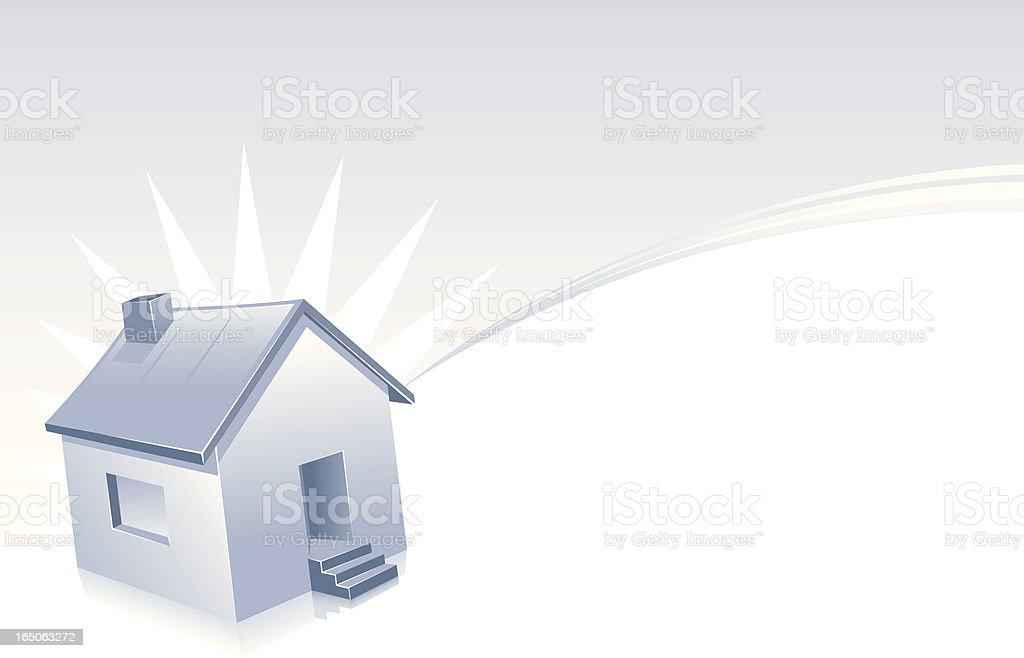 single home wallpaper royalty-free stock vector art