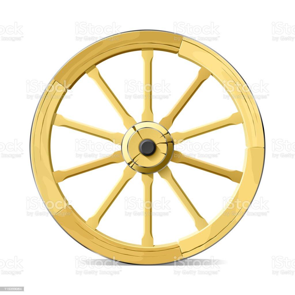 royalty free wagon wheel clip art vector images illustrations rh istockphoto com pioneer wagon wheel clipart wagon wheel clip art black and white
