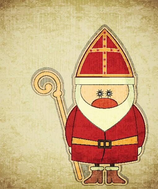 sinterklaas - dutch traditional clothing stock illustrations, clip art, cartoons, & icons
