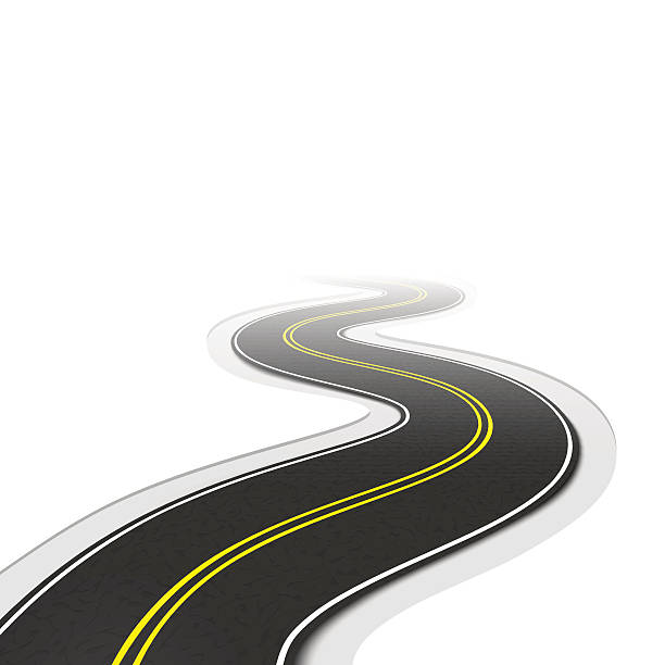 Best Long Road Illustrations, Royalty-Free Vector Graphics ...