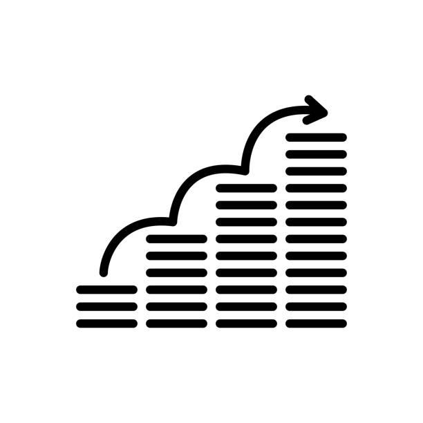 illustrations, cliparts, dessins animés et icônes de investissement de sip - inflation