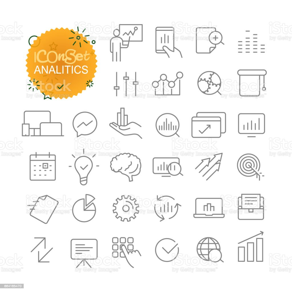 Sipmple icons collection. Web and mobile app outline icons set royalty-free sipmple icons collection web and mobile app outline icons set stock vector art & more images of abstract
