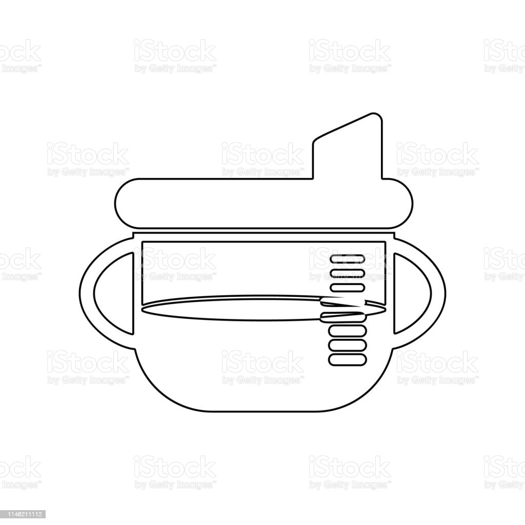 Sippy Cup Icon Element Of Baby For Mobile Concept And Web Apps Icon