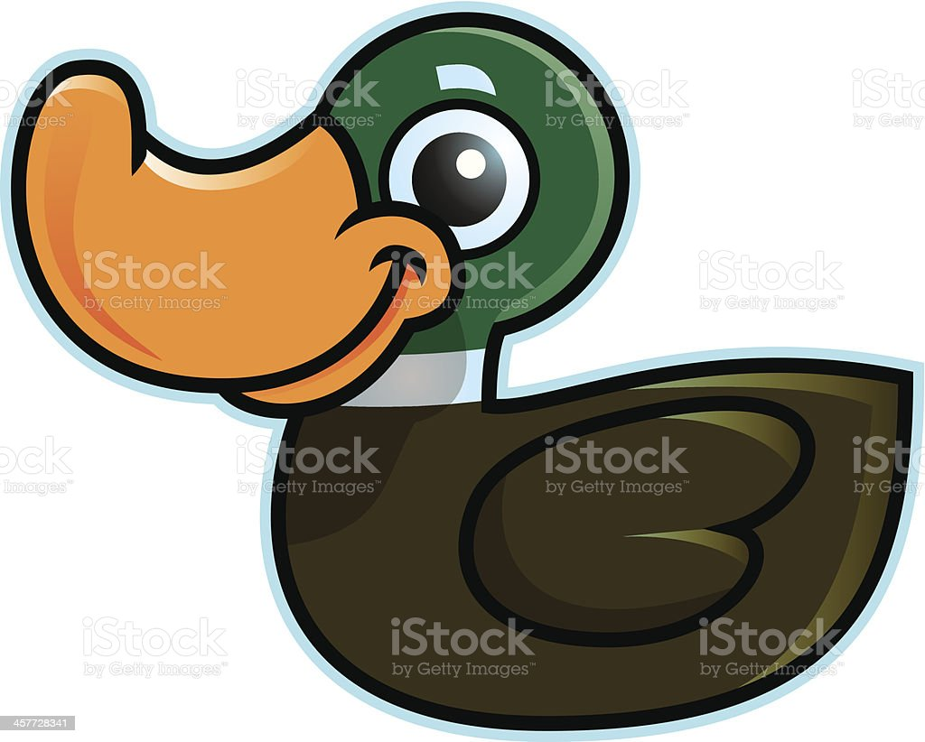 Sitting Duck royalty-free sitting duck stock vector art & more images of animal
