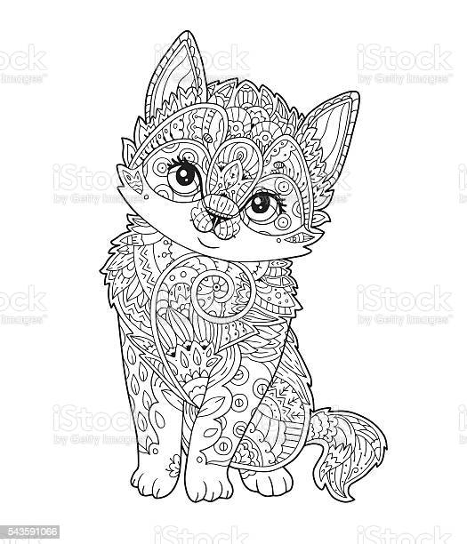 Sitting kitten ornamented in vector vector id543591066?b=1&k=6&m=543591066&s=612x612&h=9jynni8oj8w2r h wn1dvhk3ahpphuk9wgjxeu0l6x8=