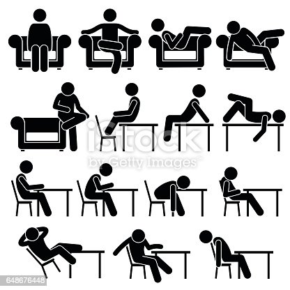 Sitting On Sofa Couch Working Chair Lounge Table Poses
