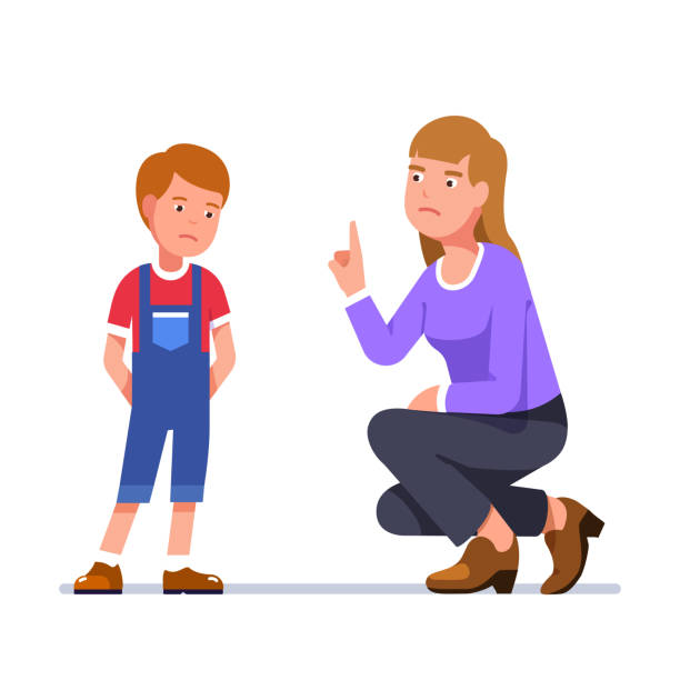 Best Mother Scolding Illustrations, Royalty-Free Vector ...
