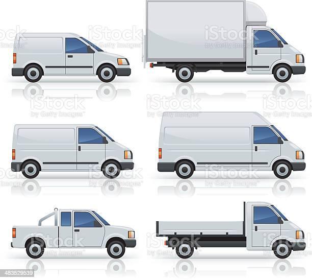 Six commercial van icons silhouetted on white vector id483529539?b=1&k=6&m=483529539&s=612x612&h=fgfdgomhnlk2k7mt6xz8b9olmrpokqptrpbnatpinli=