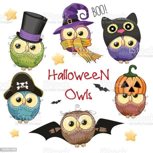 Six cute halloween owls vector id849861898?b=1&k=6&m=849861898&s=612x612&h=9udadjhdc7e7c4cdknvbqu0xknx2i r6udyaahjgcak=