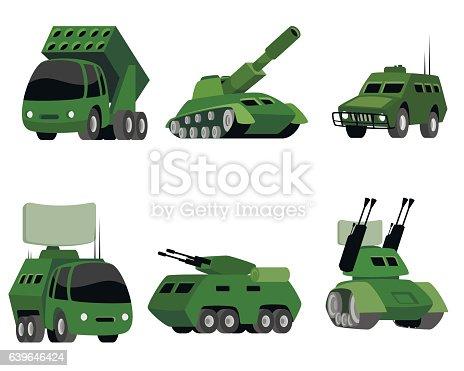 istock Six military vehicle 639646424