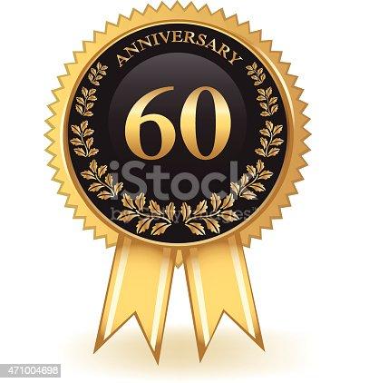 istock Sixty Year Anniversary 471004698