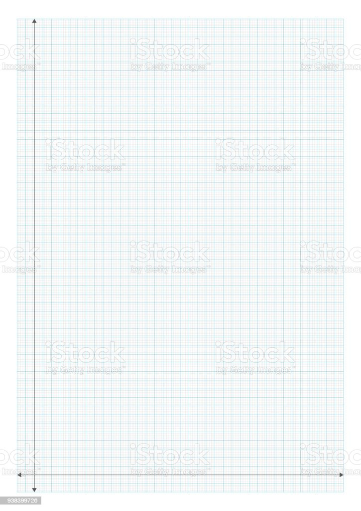 A4 Size Graph Paper X And Y Axis Royalty Free A4 Size Graph Paper X