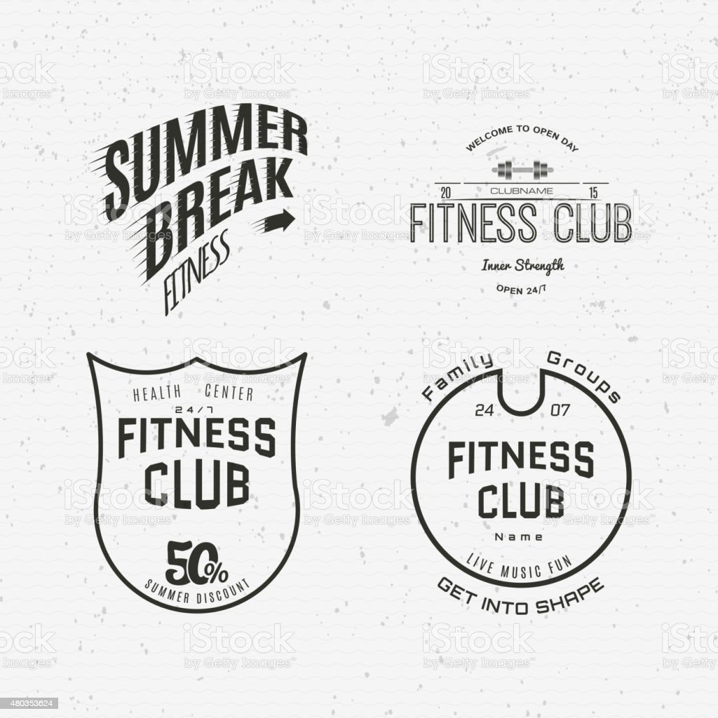 Skateboard badges logos and labels for any use vector art illustration