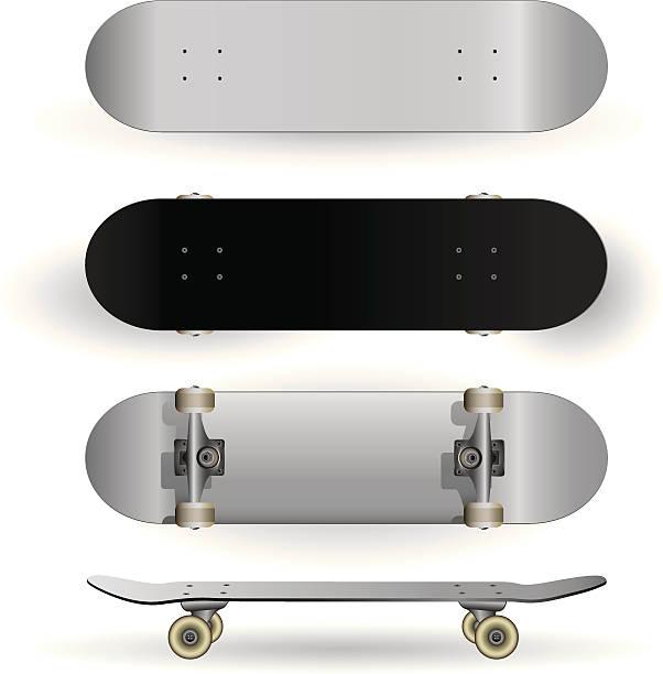 スケートボードのデザインテンプレート - スケートボード点のイラスト素材/クリップアート素材/マンガ素材/アイコン素材
