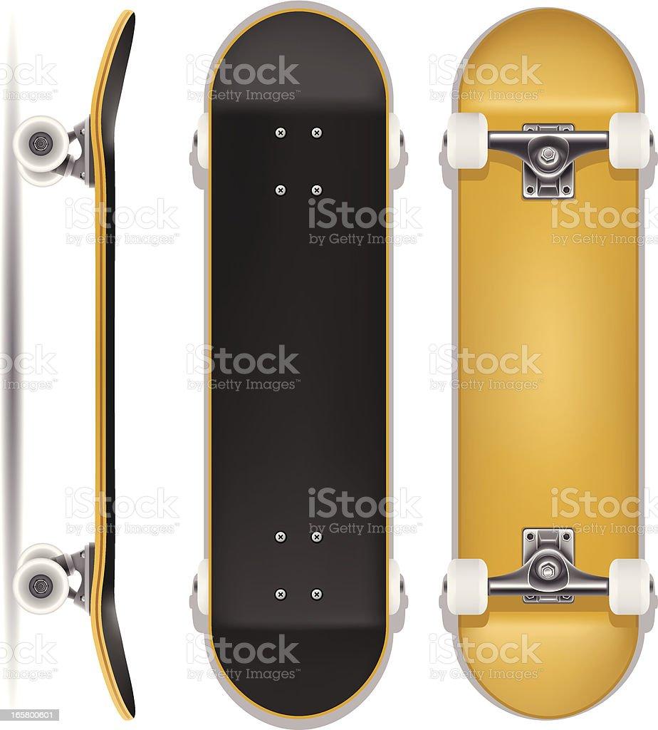 Skateboard royalty-free stock vector art