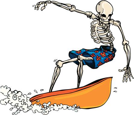 Skeleton Surfer
