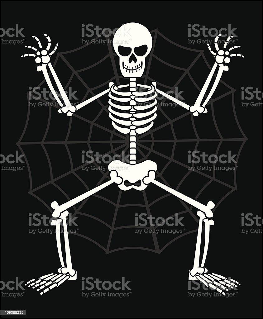 skeleton royalty-free stock vector art