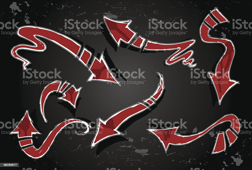 Sketch Arrows royalty-free sketch arrows stock vector art & more images of arrow symbol