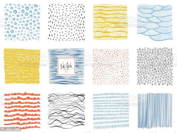 Skiss Backgrounds03-vektorgrafik och fler bilder på Abstrakt