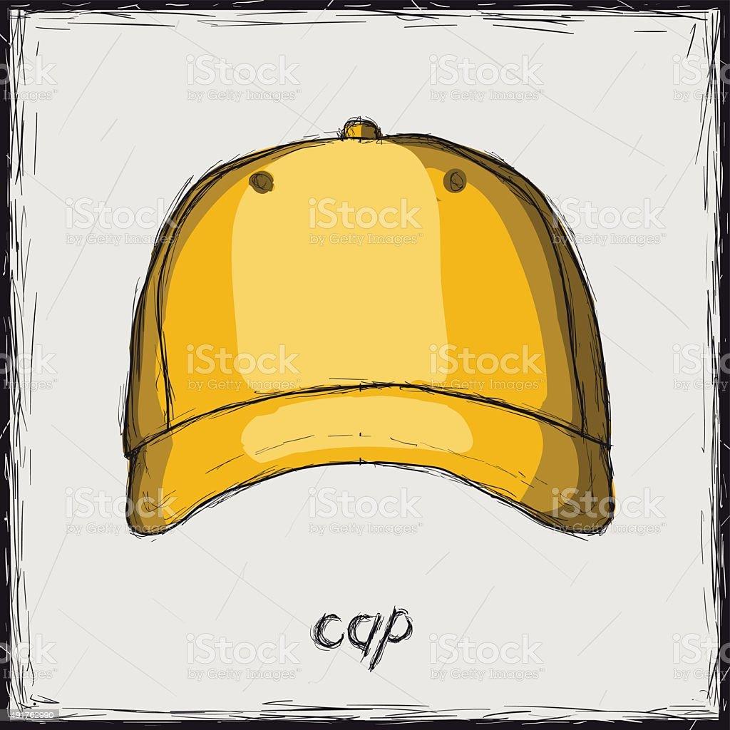Skizze Farbe Illustration Unterschreiben Gap Stock Vektor Art und ...