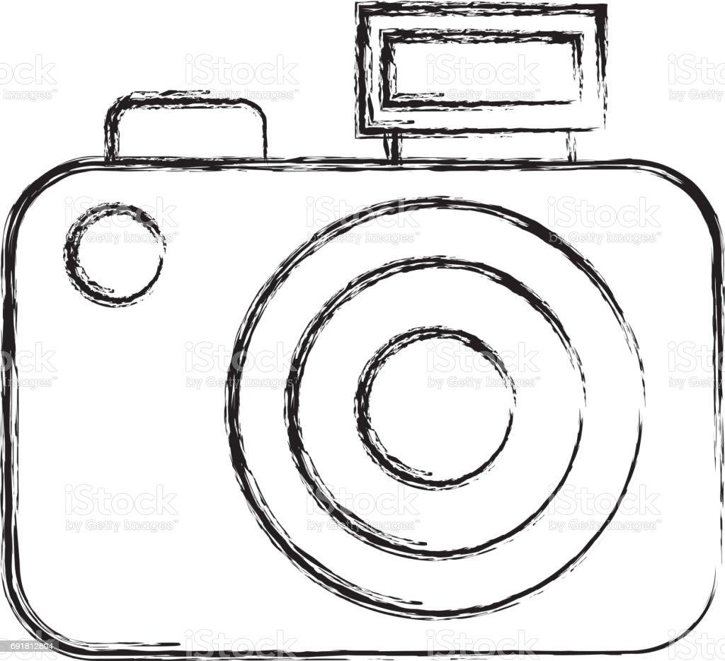 Dessin Dessiner Cartoon Camera Vecteurs Libres De Droits Et Plus D Images Vectorielles De Affichage Digital Istock