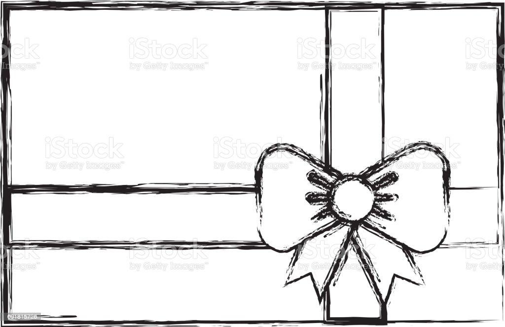 Sketch tirage cadeau dessin animé sketch tirage cadeau dessin animé cliparts vectoriels et plus d