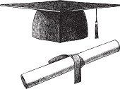 Sketch Graduation Cap