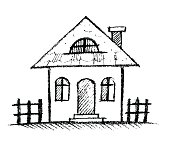 Image result for drawn house
